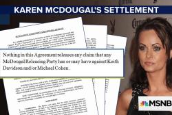 Karen McDougal's lawyer: We may sue Cohen, Trump