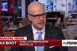 """Max Boot: Trump's """"love"""" for Putin undermines U.S. foreign policy"""