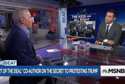 Trump 'Art of the Deal' co-author: The secret to protesting Trump