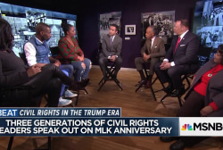Black Leaders debate tensions between Civil Rights activists