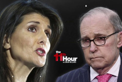 Nikki Haley blasts fellow Trump aide Kudlow over Russia sanctions