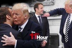 Trump & Macron feel each other out on Iran nuke deal & more