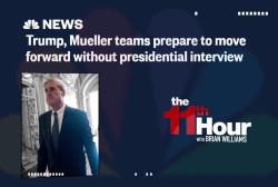 Communications between Trump & Mueller teams break down