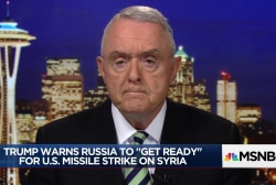 Four-star general: Trump will likely strike Syria in next 48 hours