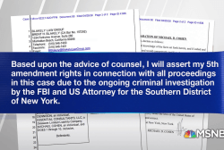 Cohen to plead the fifth in Stormy Daniels lawsuit