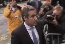 Judge rejects Trump request to review seized Cohen docs