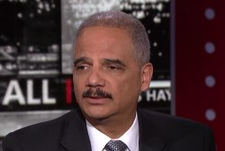 Eric Holder: 'Our democracy is under attack'