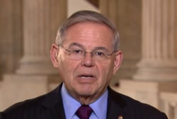 Syria strikes may have been 'choreographed' w/ Russia: Sen. Menendez
