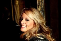 Trump makes first public comments on Stormy Daniels