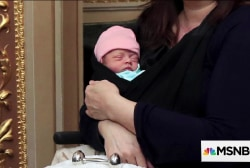 Sen. Duckworth's 10-day-old daughter makes history