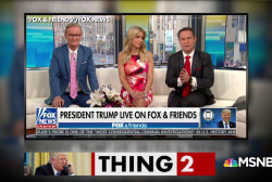 Trump wants repeat of bizarre Fox and Friends interview