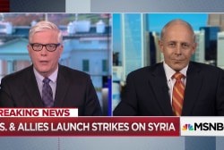 Syrian response to strikes will determine future U.S. actions, Ret. Marine Corps Major General