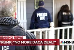 How Trump is 'conflating #DACA with refugee' crisis