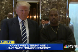 Kanye West shocks with vocal support of Trump