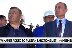 New sanctions on Russian oligarchs designed as message to Putin