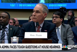 Pruitt admits fancy, waste of money phone booth is 'not a SCIF'