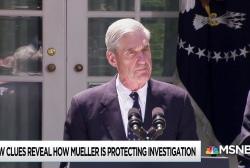 Firing Mueller won't end Trump investigation, Mueller made sure