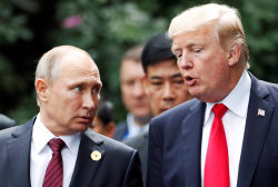 Trump and Putin discussed White House as possible meeting venue, Sanders confirms