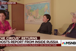 'The Circus' returns with report from inside Russia