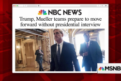 Mueller interview with Trump less likely after raid