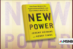 How 'New Power' is changing the way we live