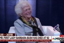 'An indispensible partner': Remembering Barbara Bush