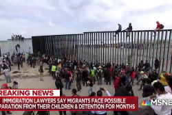 Mass of migrants face legal trouble at U.S. border