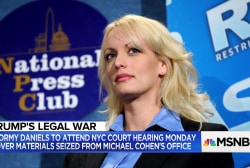 Attorney: 'Too far' to have Stormy Daniels at Trump lawyer hearing