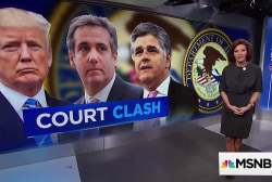 Court Clash: Cohen forced to reveal mystery client Sean Hannity