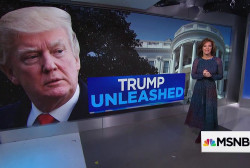 President Trump unhinged or unchained?