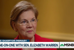 Rev. Al goes one-on-one with Sen. Elizabeth Warren