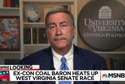 Could an ex-con coal baron win WV Senate Seat?