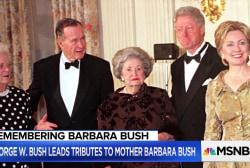 Former Bush Chief of Staff reflects on the life of Barbara Bush