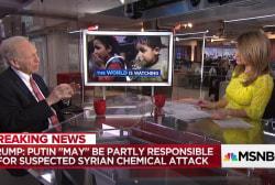 "Fmr. Sen. Joe Lieberman: The President's response to chemical attack ""must hurt"" Assad regime"