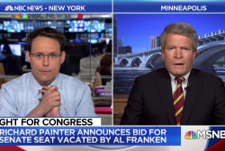 Richard Painter running for Al Franken's seat, says the senator deserved better