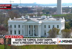 The Big Question: What is President Trump's end game with tariffs?
