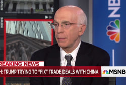 Former Clinton Economic Adviser and Federal Reserve Vice-Chair says Trump may be the only one who thinks it's easy to win a trade war