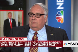 Howard Buffett responds to Trump's militarized border proposal