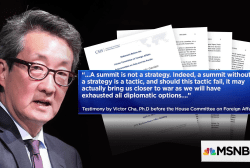 "CSIS Korea Chair: ""We shouldn't have somebody else negotiating the peace treaty"""