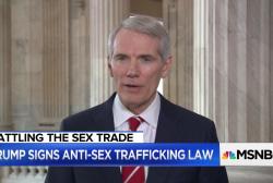 Trump signs landmark law targeting sex trafficking sites