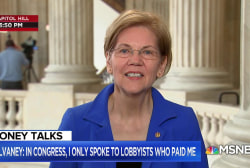 Sen. Warren calls Mick Mulvaney's lobbyist comments 'corruption'