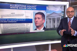 Accusations against White House doctor Ronny Jackson