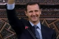 How has the world responded to the latest chemical attack in Syria?