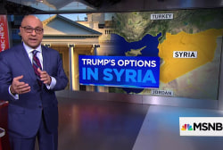 President Trump's military options in Syria