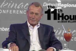 Boehner: 'There is no Republican Party. There's a Trump Party.'