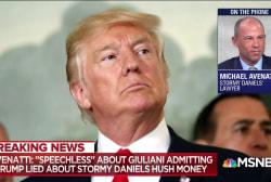 EXCLUSIVE: Michael Avenatti responds to Rudy Giuliani claiming Trump repaid Stormy Daniels hush money