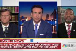 Trump aide's suspicious meeting triggered 'Crossfire hurricane'