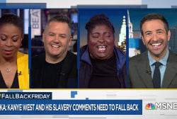 Fallback Friday: Kanye, Kim Jong-Un onesies, TV reboots and heroin dogs