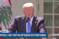 Trump could be  'laying  a mattress' for firing Sessions