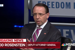 """Rep. Nadler: Trump trying to """"find an excuse"""" to fire Rosenstein"""